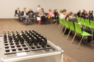 Konferenzdolmetschen